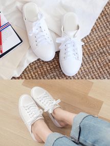 ♩ready-made shoes슬리퍼 스니커즈( 2 colors )